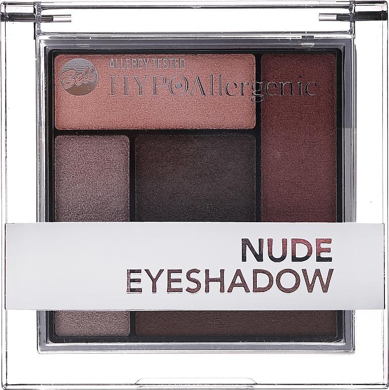 Hypoalergenní saténové krémové oční stíny - Bell Hypoallergenic Nude Eyeshadow