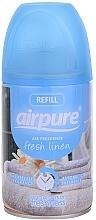 Parfémy, Parfumerie, kosmetika Osvěžovač vzduchu Svěžest - Airpure Air-O-Matic Refill Fresh Linen