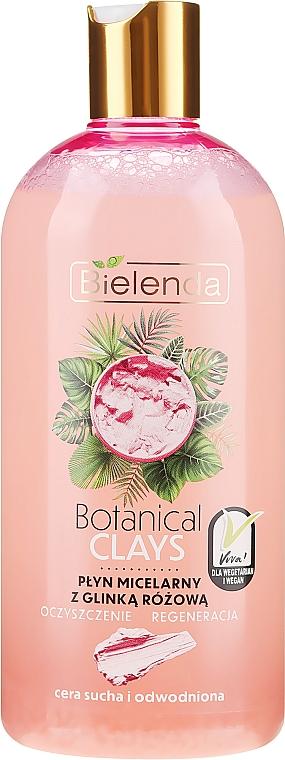 Micelární tekutina na základě růžové hlíny - Bielenda Clays