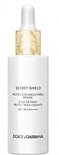 Parfémy, Parfumerie, kosmetika Vyhlazující ochranný primer - Dolce & Gabbana Secret Shield Protective Smoothing Primer SPF50 PA++++