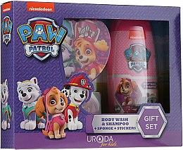 Parfémy, Parfumerie, kosmetika Sada - Uroda Paw Patrol Girl (sh/gel/250ml + sponge + stickers)