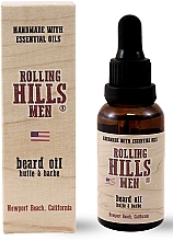 Parfémy, Parfumerie, kosmetika Olej na vousy - Rolling Hills Men Beard Oil