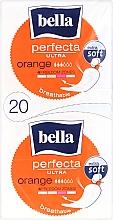 Parfémy, Parfumerie, kosmetika Vložky Perfecta Ultra Orange, 10+10 ks - Bella
