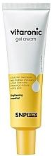 Parfémy, Parfumerie, kosmetika Gel krém pro rozjasnění pleti s vitamínem C - SNP Prep Vitaronic Gel Cream
