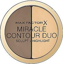 Parfémy, Parfumerie, kosmetika Paleta na kontury obličeje - Max Factor Miracle Contour Duo