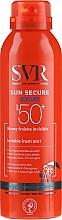 Parfémy, Parfumerie, kosmetika Opalovací sprej - SVR Sun Secure Brume Invisible Fresh Mist SPF 50