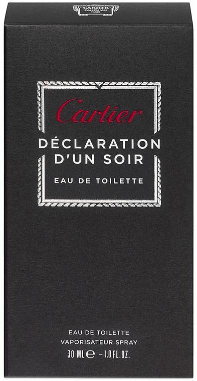 Cartier Declaration DUn Soir - Toaletní voda — foto N4