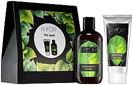 Parfémy, Parfumerie, kosmetika Sada - Ryor Cosmetic Set For Men (sh/gel/250ml+cr/100ml+towel)