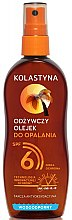 Parfémy, Parfumerie, kosmetika Olej ve spreji opalovací voděodolný - Kolastyna SPF6