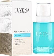 Parfémy, Parfumerie, kosmetika Mající fluid na obličej - Juvena Skin Energy Pore Refine Mat Fluid