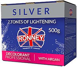 Parfémy, Parfumerie, kosmetika Zesvětlující pudr pro vlasy s máslem Argana - Ronney Dust Free Bleaching Powder With Argan