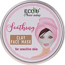 Parfémy, Parfumerie, kosmetika Pleťová maska Zklidňující - Eco U Soothing Clay Face Mask For Sensative Skin