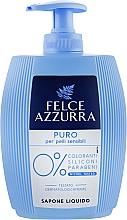 Parfémy, Parfumerie, kosmetika Tekuté mýdlo - Felce Azzurra Puro Per Pelli Sensibili