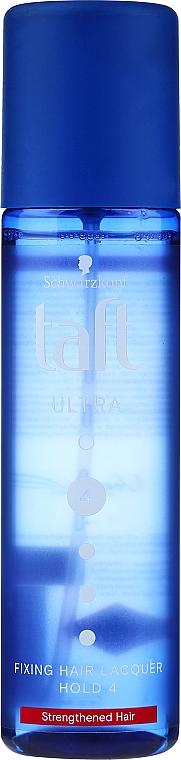 Lak na vlasy s ultra silnou fixací s argininem - Schwarzkopf Taft Ultra Fixing Lacquer