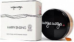 Parfémy, Parfumerie, kosmetika Matující pudr na obličej - Uoga Uoga Happy Ending Finishing Powder