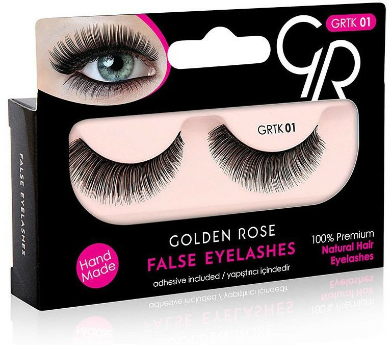 Umělé řasy - Golden Rose False Eyelashes — foto N1