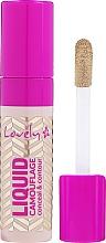 Parfémy, Parfumerie, kosmetika Korektor na obličej - Lovely Liquid Camouflage
