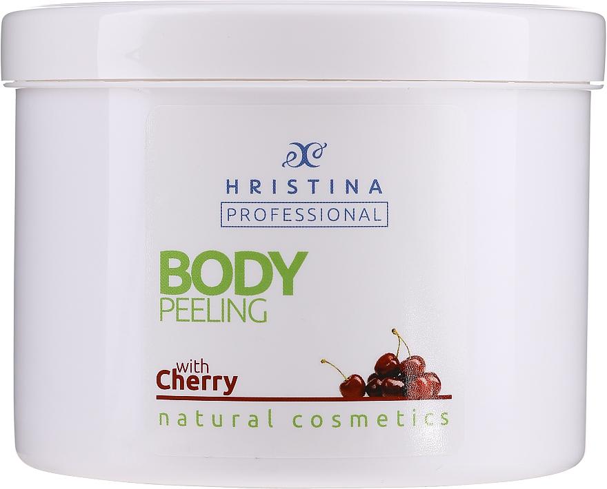 Tělový peeling Třešeň - Hristina Professional Cherry Body Peeling