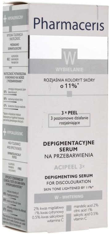 Intenzivní bělící sérum na obličej - Pharmaceris W Depigmentation Serum — foto N2