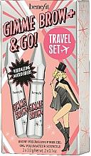 Parfémy, Parfumerie, kosmetika Sada - Benefit Gimme Brow & Go Set (mascara/3gx2)