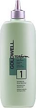 Parfémy, Parfumerie, kosmetika Trvalá ondulace pro normální nebo tenké vlasy - Goldwell Topform 1