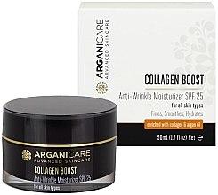 Parfémy, Parfumerie, kosmetika Hydratační krém od vrásek SPF25 - Arganicare Collagen Boost Anti Wrinkle Moisturizer SPF25