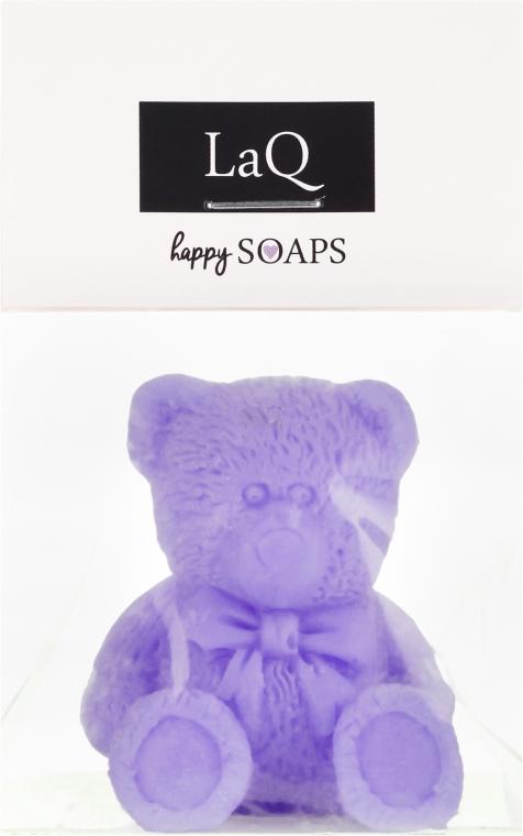 """Přírodní mýdlo ruční výroby """"Malý medvěd"""" s vůní levandule - LaQ Happy Soaps Natural Soap"""
