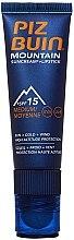 Parfémy, Parfumerie, kosmetika Ochranný krém na obličej a rty - Piz Buin Mountain Sun Cream Plus Lipstick SPF15