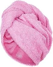Parfémy, Parfumerie, kosmetika Turban na vlasy, růžový - MakeUp