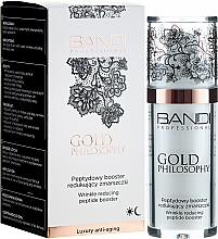 Parfémy, Parfumerie, kosmetika Peptidový booster proti vráskám - Bandi Professional Gold Philosophy Wrinkle Reducing Peptide Booster