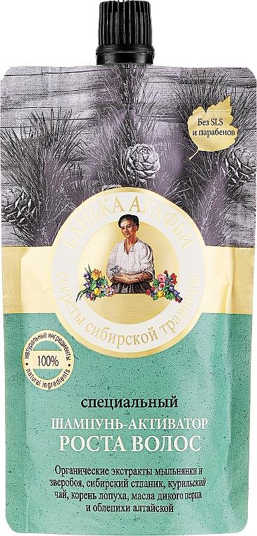 Speciální šampon-aktivátor růstu vlasů - Recepty babičky Agafyy Lázeň Agafií