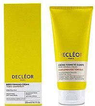 Parfémy, Parfumerie, kosmetika Výživný krém s grapefruitem pro pružnost těla - Decleor Tonic Grapefruit Body Firming Cream