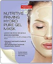 Parfémy, Parfumerie, kosmetika Hydrogelová výživná maska, zpevňující na obličej - Purederm Nutritive Firming Hydro Pure Gel Mask