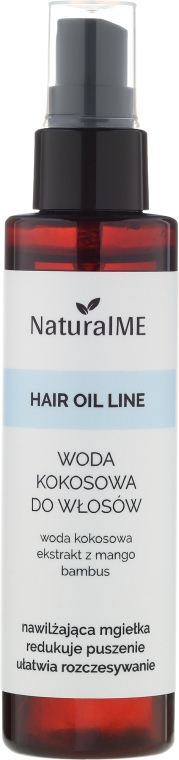 Kokosová voda na vlasy - NaturalME Hair Oil Line