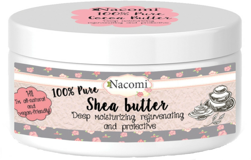 Olej Shea - Nacomi Natural Shea Butter — foto N1