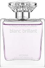 Parfémy, Parfumerie, kosmetika Christopher Dark Blanc Brillant - Parfémovaná voda