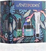 Parfémy, Parfumerie, kosmetika Sada - Antipodes Fresh Skin Favourites Skin Care Set (f/ser/10ml + f/gel/60ml + f/cr/15ml)