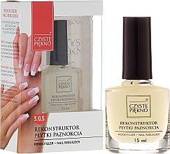 Parfémy, Parfumerie, kosmetika Rekonstrukční péče o nehty - Czyste Piękno Nail Rebuilder