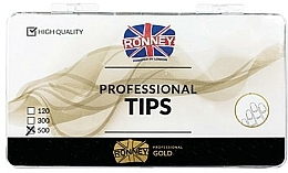 Parfémy, Parfumerie, kosmetika Nehtové tipy čiré - Ronney Professional Tips
