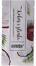 Parfémy, Parfumerie, kosmetika Maska pro nízké porézní vlasy - Anwen Low-Porous Hair Mask Coconut and Clay (vzorek)
