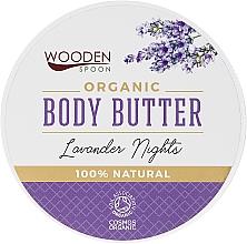 Parfémy, Parfumerie, kosmetika Olej na tělo Lavandulová noc - Wooden Spoon Lavander Nights Body Butter