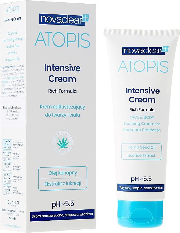Krém na obličej a tělo - Novaclear Atopis Intensive Cream