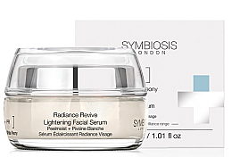 Parfémy, Parfumerie, kosmetika Zesvětlující pleťové sérum - Symbiosis London Radiance Revive Lightening Facial Serum