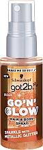 Parfémy, Parfumerie, kosmetika Třpytivý sprej na vlasy - Schwarzkopf Got2b Go N Glow Hair & Body Spray