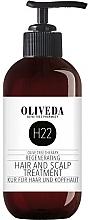 Parfémy, Parfumerie, kosmetika Přípravek pro péči o vlasy a pokožku hlavy - Oliveda H22 Hair and Scalp Treatment