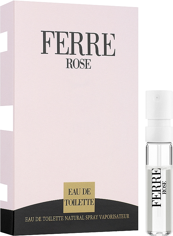 Gianfranco Ferre Ferre Rose - Toaletní voda 1,5 ml (vzorek) — foto N1