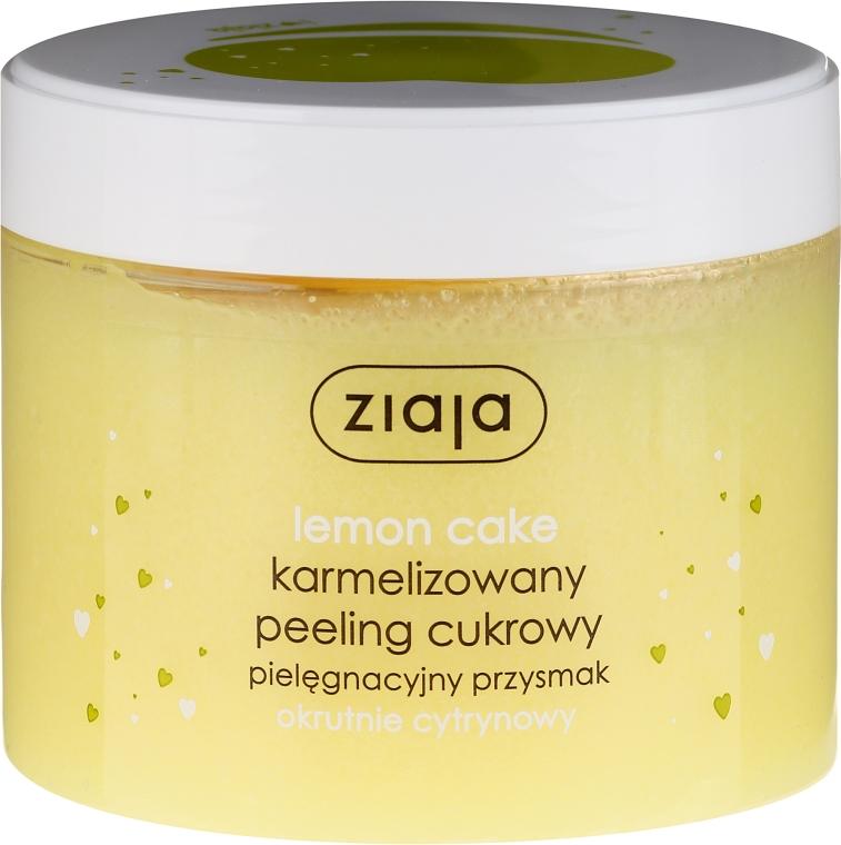 Cukrový peeling na tělo Citronový dortík - Ziaja Sugar Body Peeling