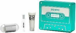 Parfémy, Parfumerie, kosmetika Carolina Herrera 212 NYC - Sada (edt/100ml + edt/10ml + b/lot/75ml)