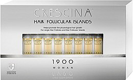 Parfémy, Parfumerie, kosmetika Pleťový krém na stimulaci růstu vlasů pro ženy 1900 - Labo Crescina Hair Follicular Island 1900 Woman