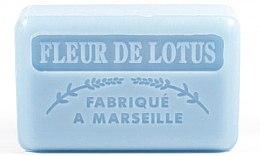"Parfémy, Parfumerie, kosmetika Marseillské mýdlo ""Květ lotosu"" - Foufour Savonnette Marseillaise Fleur De Lotus"